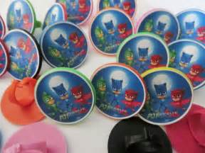 12 pj masks group rings cupcake toppers birthday party favor cake toys catboy ebay
