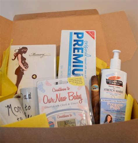 gifts for expectant parents pregnancy box expecting parents gift box baby countdown