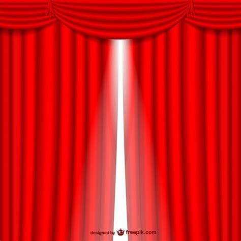 red curtain vector red curtain opening vector free download