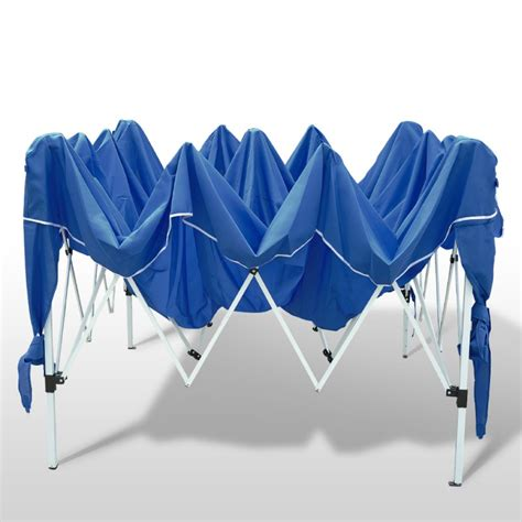 Pavillon Zelt Jumbo gartenpavillon partyzelt 3x3m blau shop gonser