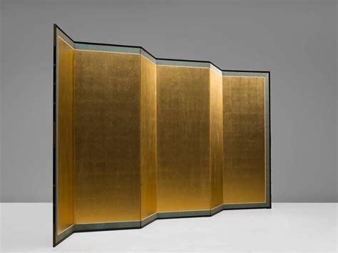 Gold Room Divider Gold Leaf Room Divider For Sale At 1stdibs