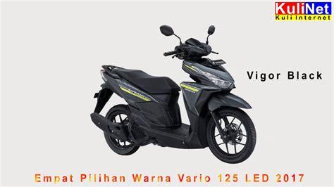 Segitiga Vario 125 Asli Ahm 4 pilihan warna all new vario 125 esp 2017