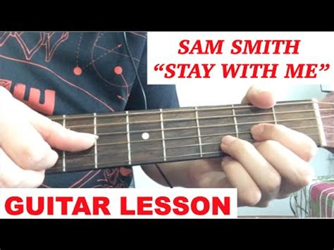 tutorial gitar gaby quot stay with me quot by sam smith super easy beginner songs on