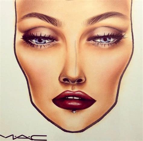 the 25 best mac face charts ideas on pinterest face makeup face images saubhaya makeup