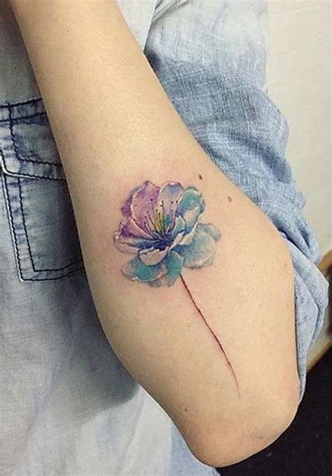 watercolor flower tattoos 17 best ideas about watercolor dandelion on