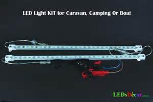 light led 12v 2 x 50 cm led 12v light bars for boat caravan cing