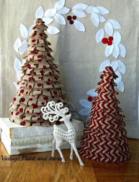 burlap christmas decor for under 25 the kim six fix