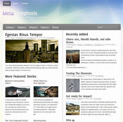 Wordpress Church Templates
