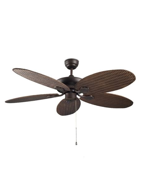 wicker ceiling fan blades rattan style ceiling fan with pull cords and no light feature