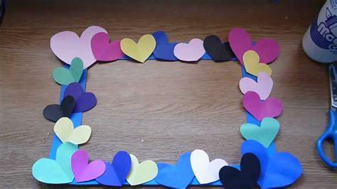 como hacer marcos con foamis imagenes diy marco decorado para san valentin super facil youtube