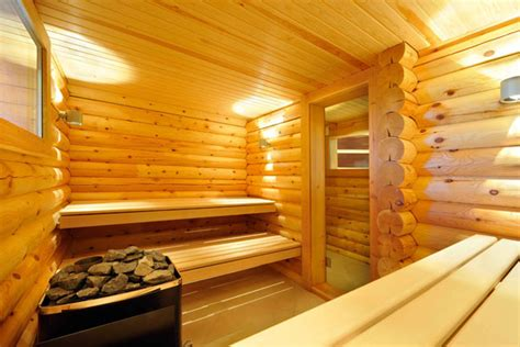 Log Cabin Homes Interior home sauna 6 stylehomes net