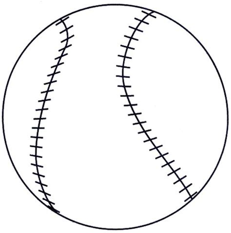 Baseball Pattern Template preschool program deportes para ceones sports for