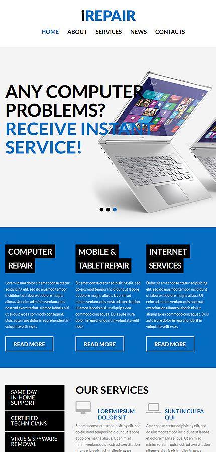 wordpress themes computer repair computer repair services wordpress theme 52468