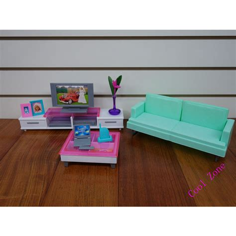 miniature leisure living room furniture set for barbie