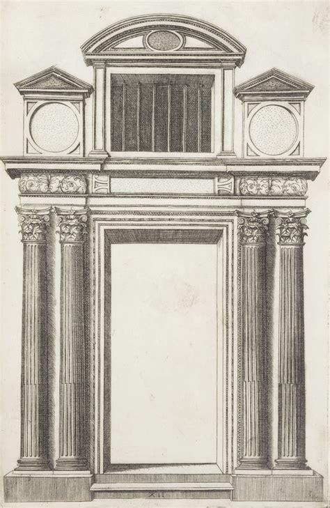 sebastiano porte architettura serlio extraordinario libro di architettura