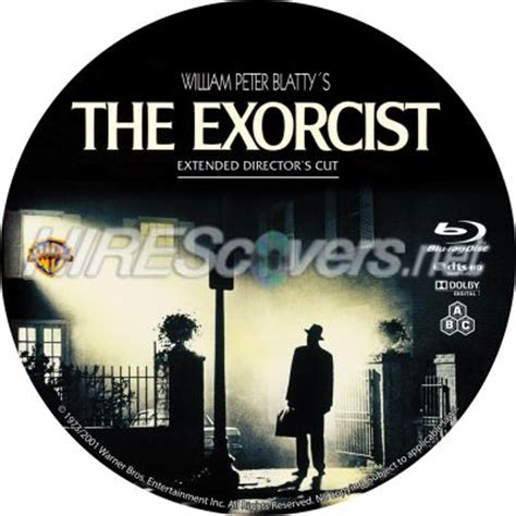 download film the exorcist blu ray dvd cover custom dvd covers bluray label movie art blu