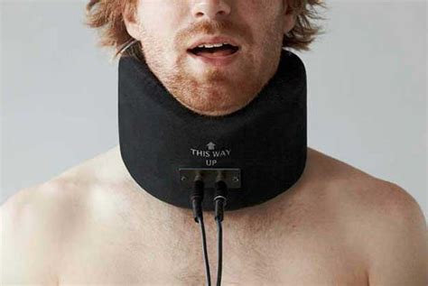 human collars human speaker collar produces sound from lip movement ubergizmo