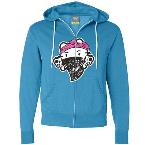 Hoodie Hello hello gangster thug zip up hoodie ebay