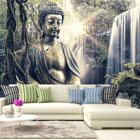 buddha wallpaper for bedroom 20 ideas of 3d buddha wall art wall art ideas