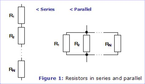 resistors in series and parallel resistors electronics in meccano