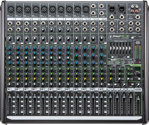 Mixer Mackie 4 Chanel mackie profx16v2 16 channel 4 pa mixer w usb pssl