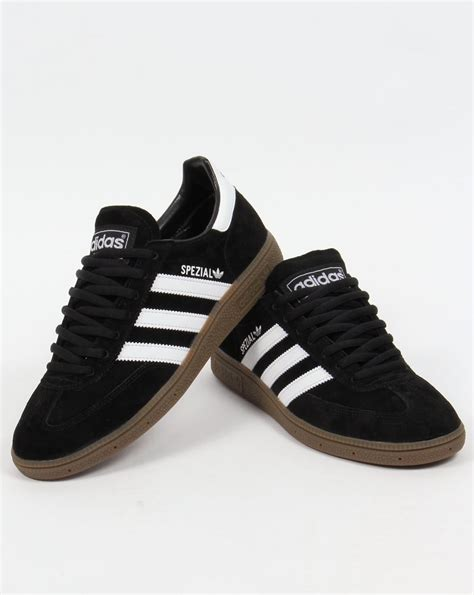 Adidas Originals Black adidas spezial trainers black white originals shoes mens