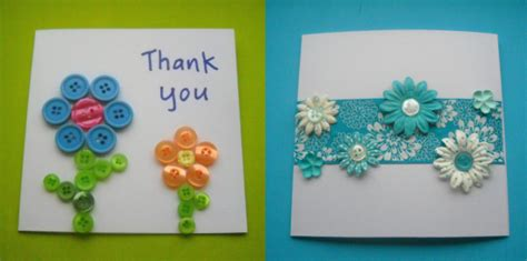 card crafts thank you cards think crafts by createforless