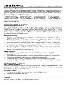 sle resume format for accounting staff