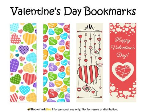 printable heart bookmarks 100 best images about printable bookmarks at bookmarkbee