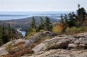 Cadillac Mountain Acadia National Park Acadia National Park And Mount Desert Island Photo Gallery