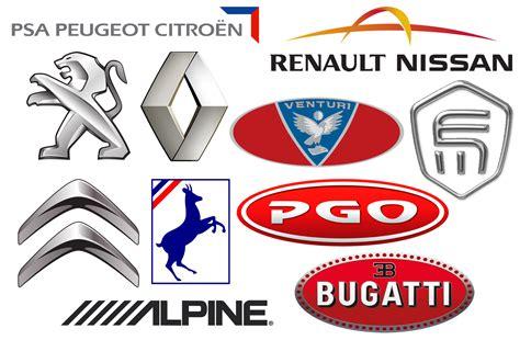 voiture francaise marque de voiture francaise les marques de voitures