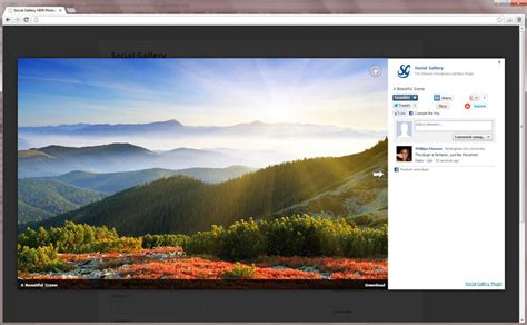 format file hdr social gallery wordpress photo viewer plugin by