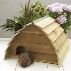 wooden hedgehog house by wudwerx notonthehighstreet