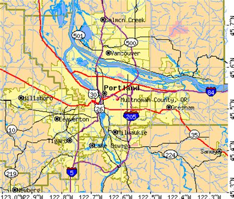 Multnomah County Real Property Records Multnomah County Map My