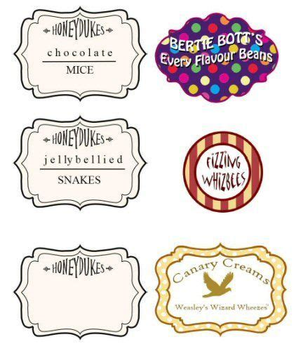 bertie botts every flavour beans template bertie botts every flavor beans label search