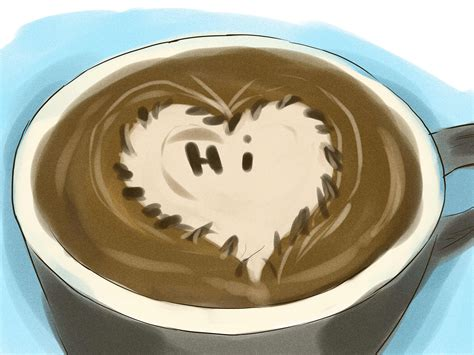how to make latte with pictures wikihow