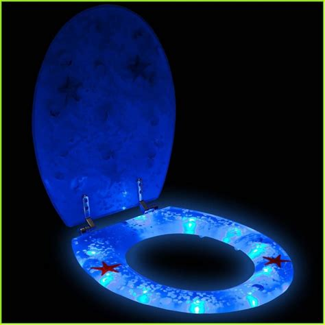 lighted toilet seat cover the best of bed and bath ideas