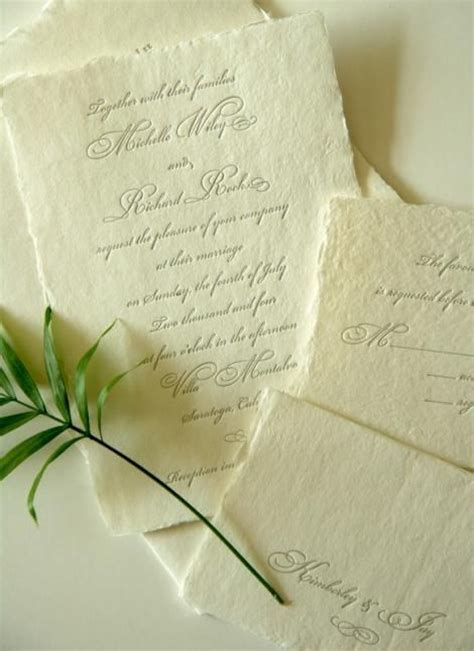 Handmade Paper Invitations - 1000 images about wedding printables on