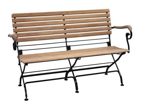 gartenmöbel aus metall und holz bank holz metall bank gartenbank liam 122cm 2sitzer