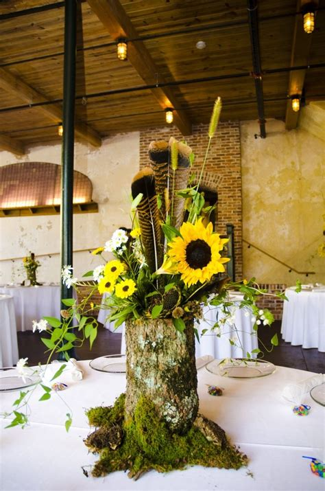 wedding log centerpieces 25 best ideas about log centerpieces on wood