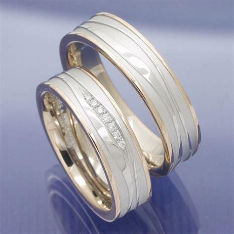 Moderne Eheringe Wei Gold by Eheringe Shop Trauringe 585 Rot Und Weissgold P9268667