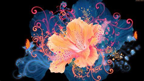 Soft 3d Sculpture Flower Black For Iphone 5 5s T0310 free cool 3d flower desktop wallpapers hd