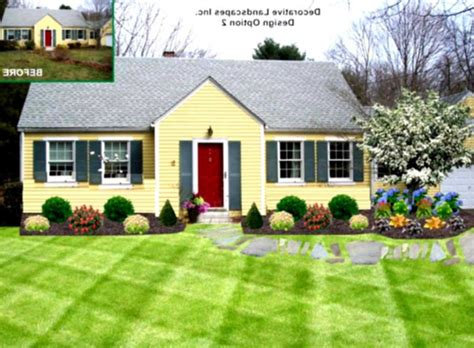 building a home ideas gorgeous low maintenance landscaping ideas ranch home the