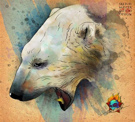 polar bear tattoo designs polar by pioneer on deviantart