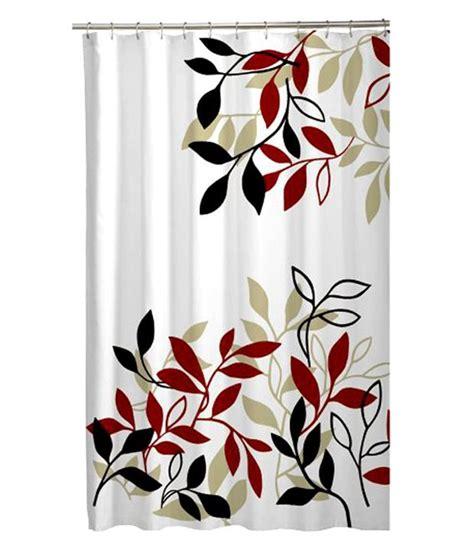 maytex mills shower curtain maytex mills fabric satori shower curtain red buy