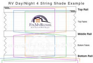 Restring Rv Blinds Rv Day Night Shade Repair