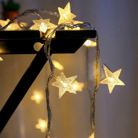 Led Star Shape 20 40led String Light Fairy Light Battery Lights Decoration