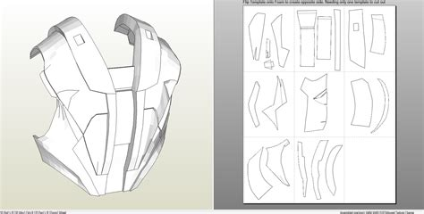 iron man suit template foamcraft pdo file template for iron 4 6