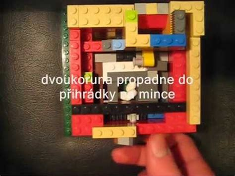 lego automat tutorial lego automat na bonbony mechanismus youtube
