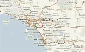 sun valley california map sun city california location guide
